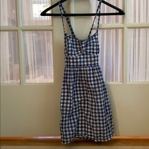 Abercrombie and Fitch plaid/checkered dress